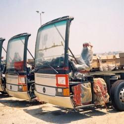 שוב: אוטובוסים נשרפים, אך מערכות כיבוי יותקנו רק ב-2016