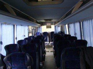 אוטובוס מידי טורקיז