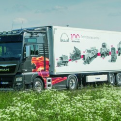 ההיסטוריה של מאן לכבוד 100 שנים ליצור המשאית הראשונה שלה