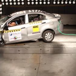 שברולט זכתה ב-0 כוכבי בטיחות באמריקה הלטינית