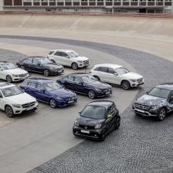 העתיד החשמלי של מרצדס: כל המכוניות יהיו היברידיות