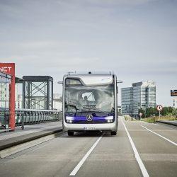 מרצדס חשפה אוטובוס אוטונומי עירוני ראשון