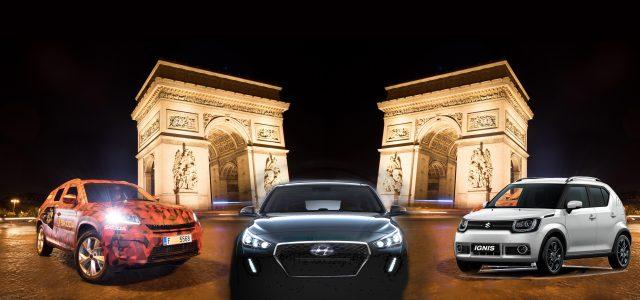 מתכוננים לפריז: יונדאי עם משפחתית אירופאית, רכב פנאי לסקודה וסופר מיני בניחוח שטח לסוזוקי