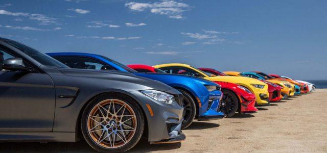 """צפו: 12 מכוניות עם 7,000 כ""""ס במרוץ דראג מטורף"""