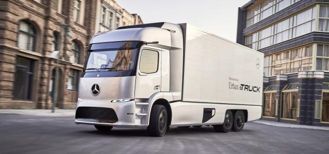 משאית חשמלית ראשונה למרצדס
