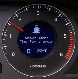 התרעת עייפות בנהיגה 008