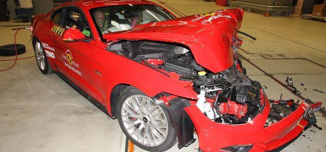 מביך: פורד מוסטנג זכתה לציון עלוב ב-NCAP