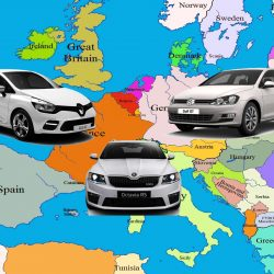 עוד באירופה: המכוניות המבוקשות ביותר ביבשת הישנה