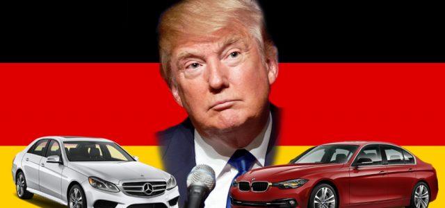 רגע לפני ההשבעה: טראמפ מאיים על יצרניות הרכב הגרמניות