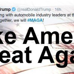"""טראמפ למנכ""""לי יצרניות הרכב: החזירו את הייצור למדינה ותיהנו מהקלות"""