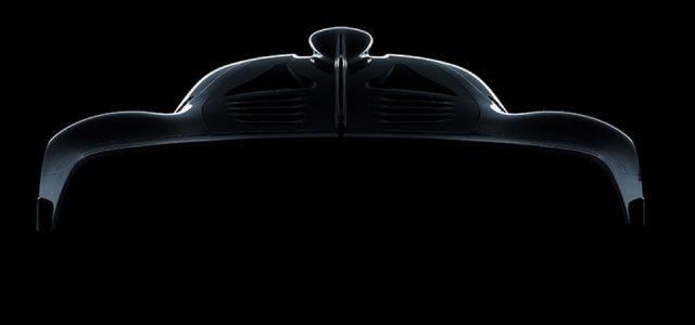 מרצדס מפתחת הייפר-קאר עם מנוע של רכב פורמולה 1
