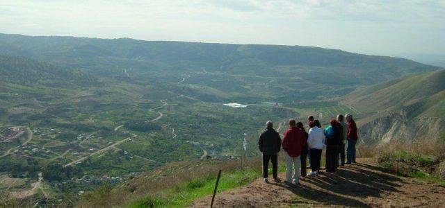 """טיול לסופ""""ש: תצפית מעל הגולן"""