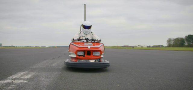 """שיא גינס: 160 קמ""""ש במכונית מתנגשת מהלונה פארק"""