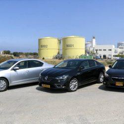 מכונית מהעבודה: מבחן השוואתי לסקודה אוקטביה, רנו גרנד קופה וסובארו אימפרזה