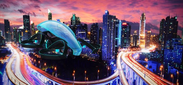 מכונית מעופפת תדליק את הלהבה האולימפית בטוקיו 2020