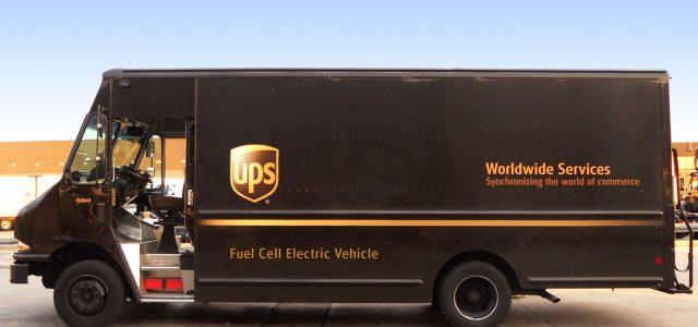 משלוח נקי: UPS החלה בניסויים של רכבי חלוקה עם תא דלק