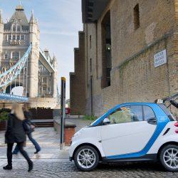 תחבורה שיתופית מצמצמת את הבעלות על רכב פרטי