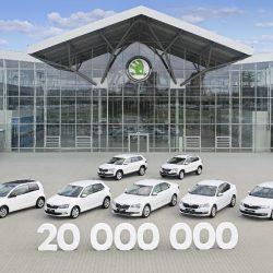 סקודה מציינת ייצור 20 מיליון מכוניות