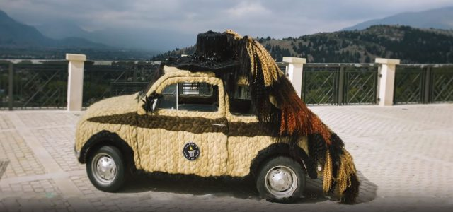 צפו: המכונית הכי שעירה בעולם