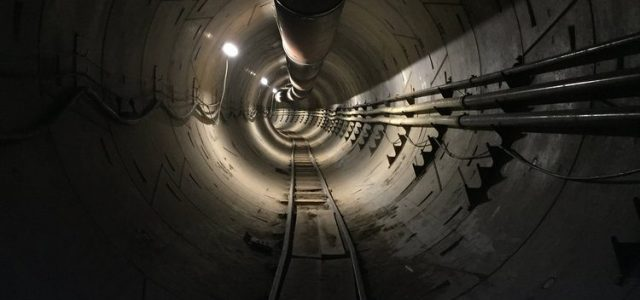 אלון מאסק ממשיך לחפור: אלה המנהרות של לוס אנג'לס