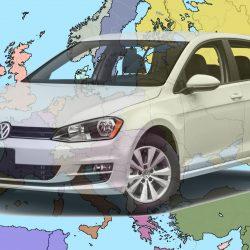 המכוניות הנמכרות באירופה ב-2017