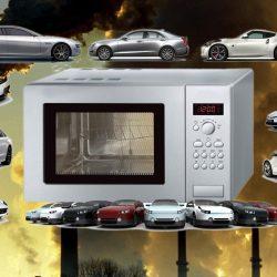 מחקר בריטי: תנורי המיקרוגל באירופה מזהמים כמו 7 מיליון מכוניות