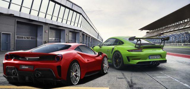 """הארד קור במיליונים: פרארי ופורשה מציגות את """"מכוניות יום המסלול"""" האולטימטיביות"""