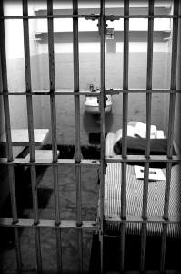 תא בכלא אלקטראז, צילום: Kathycsus