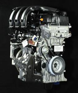 מנוע מוגדש 1.2 ליטר 3 צילנדרים של פיז'ו-סיטרואן. מאוד חרוץ