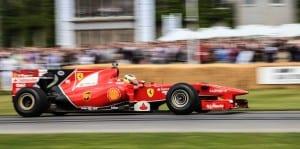 Ferrari at goodwood 2014