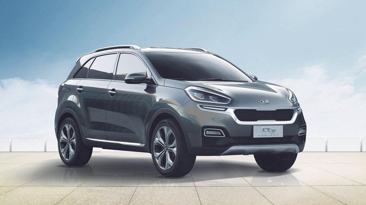 דגם התצוגה KX3 מתאר קרוס-אובר חדש לשוק הסיני, אבל יותר מרומז על המראה של ספורטאז' החדש