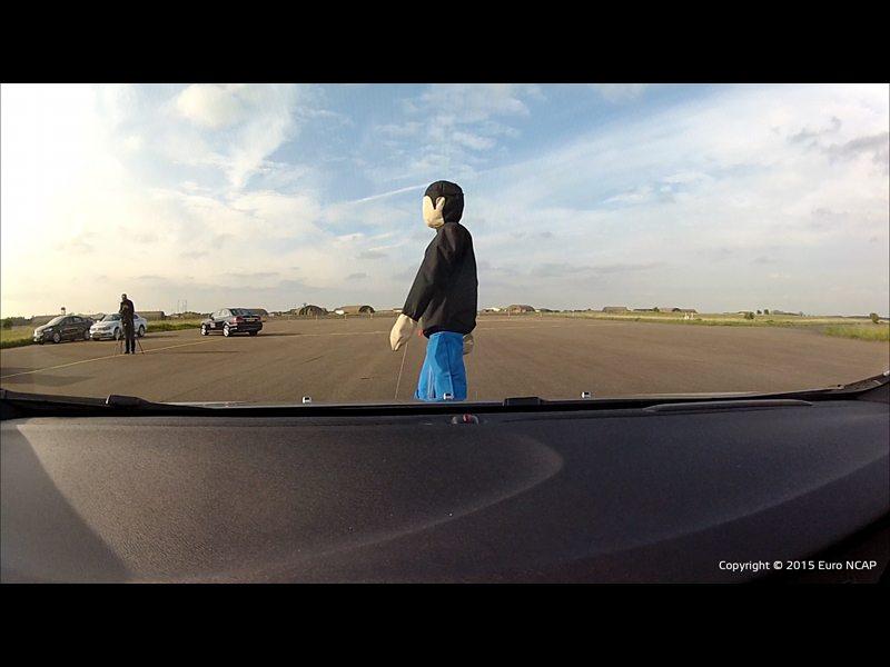 Euro NCAP autonomous pedestrian detection 001