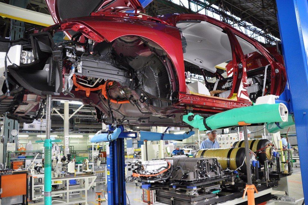 מפעל הרכבה טויוטה יפן 0076