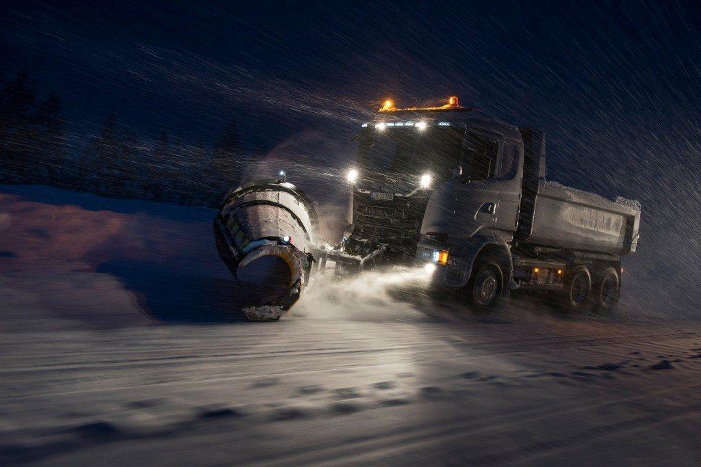 משאיות בעבודות עפר יציגו פריצת דרך בנהיגה אוטונומית.005