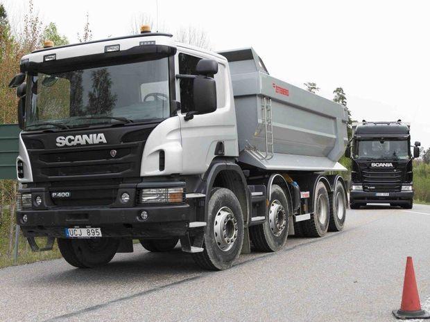 משאיות בעבודות עפר יציגו פריצת דרך בנהיגה אוטונומית.007