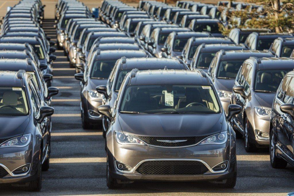 2017 Chrysler Pacifica Dealer Drive Away