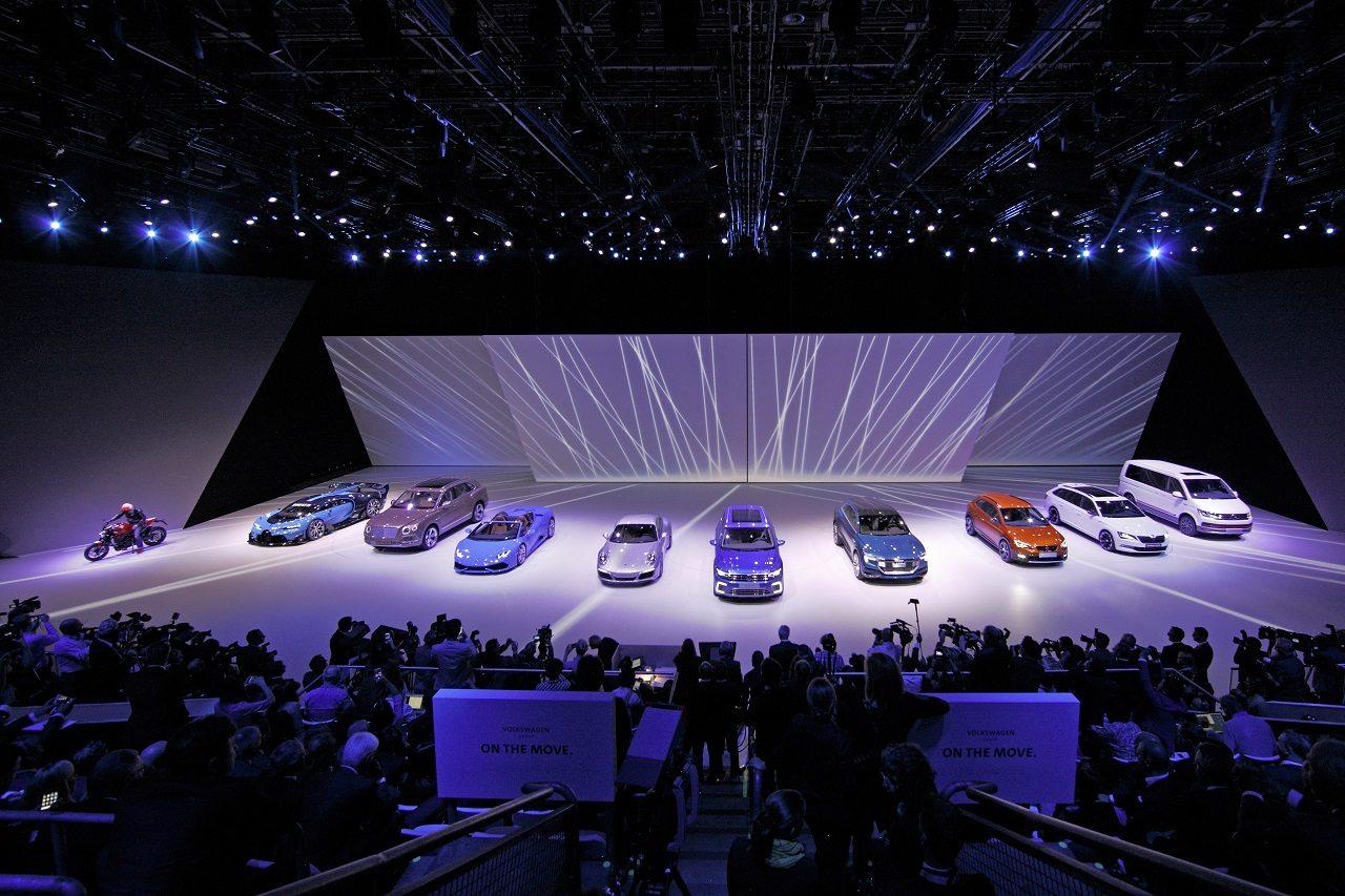 """Volkswagen Group Night ?On the Move"""", IAA Frankfurt 2015"""