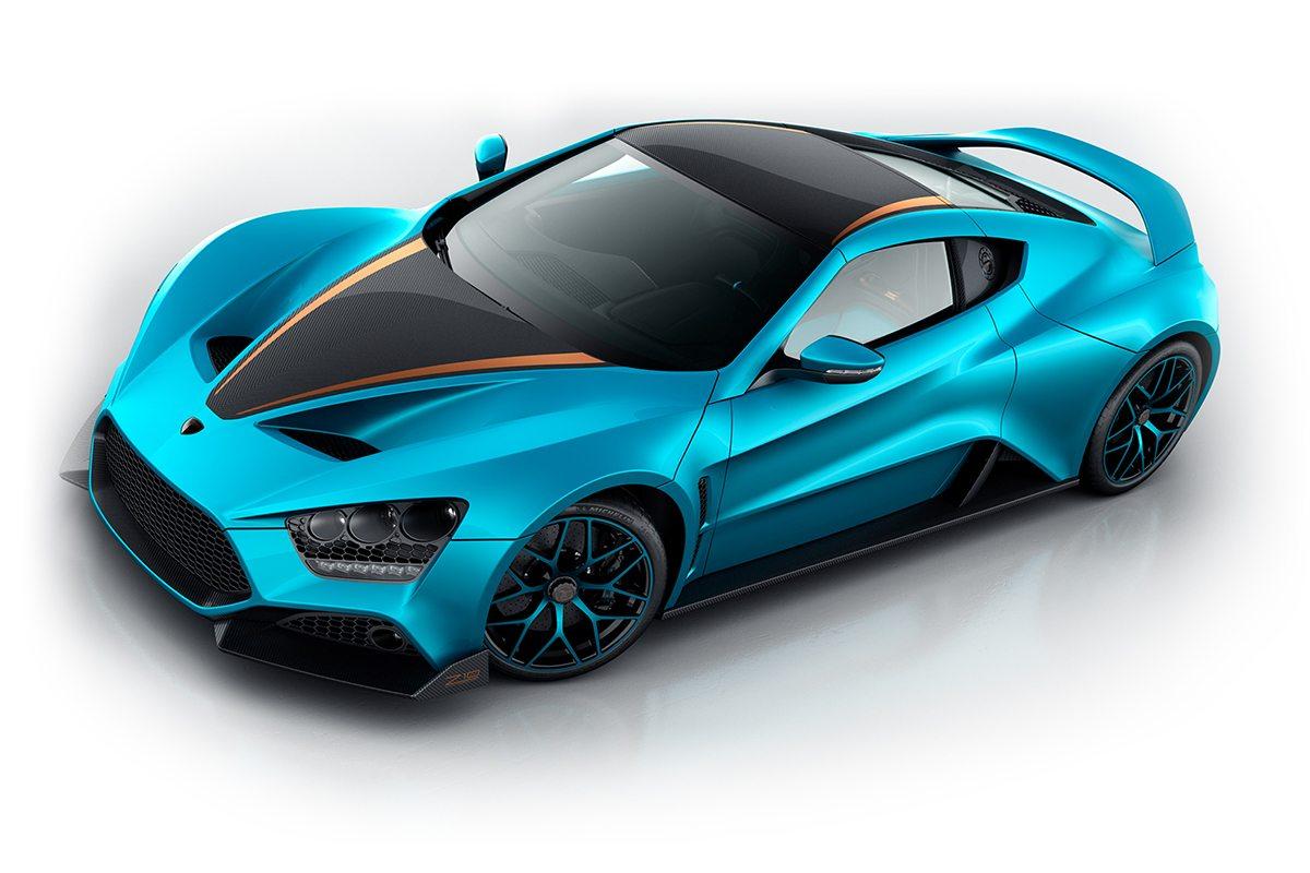 האופנה האופנתית מהירות ועצבניות - מכוניות הספורט של תערוכת ז'נבה - AX-51