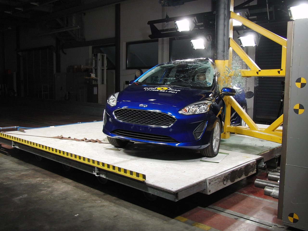 Euro NCAP – פורד פיאסטה 2017