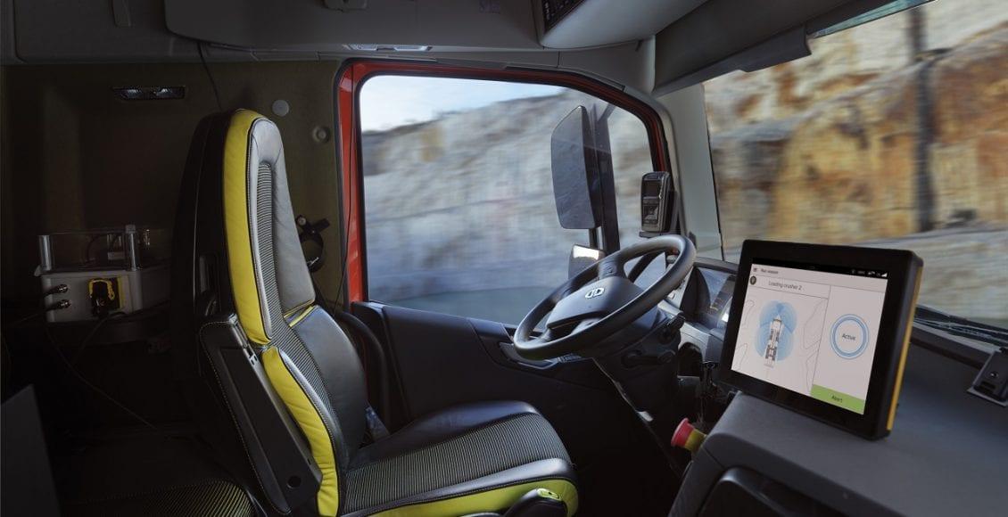 משאית אוטונומית מתוצרת וולוו 0011