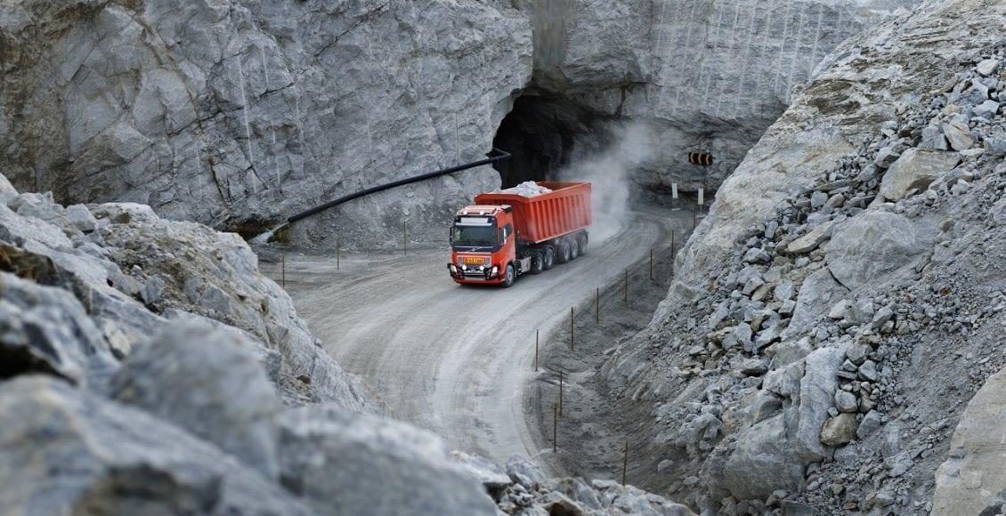 משאית אוטונומית מתוצרת וולוו 0052