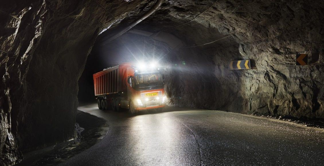 משאית אוטונומית מתוצרת וולוו 0053