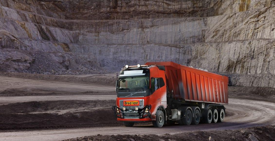 משאית אוטונומית מתוצרת וולוו 0055