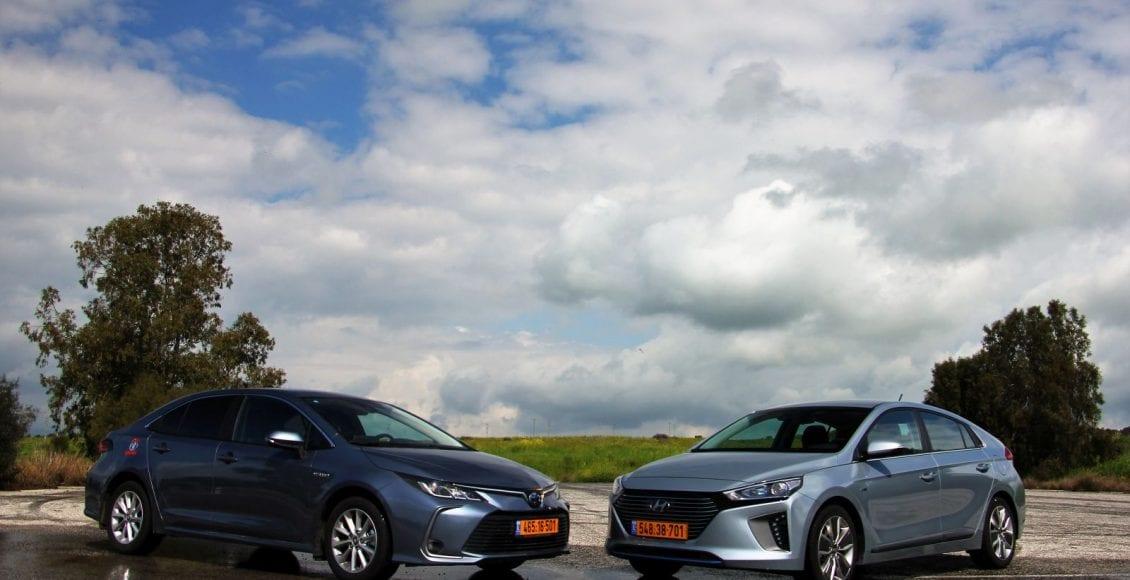 Corolla VS Ioniq 13