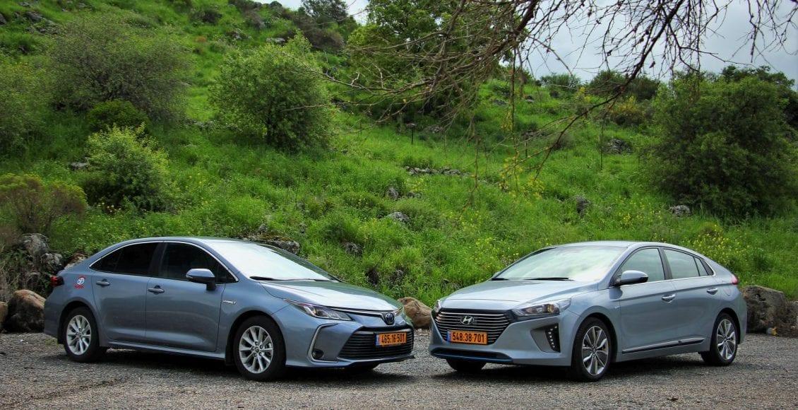 Corolla VS Ioniq 43