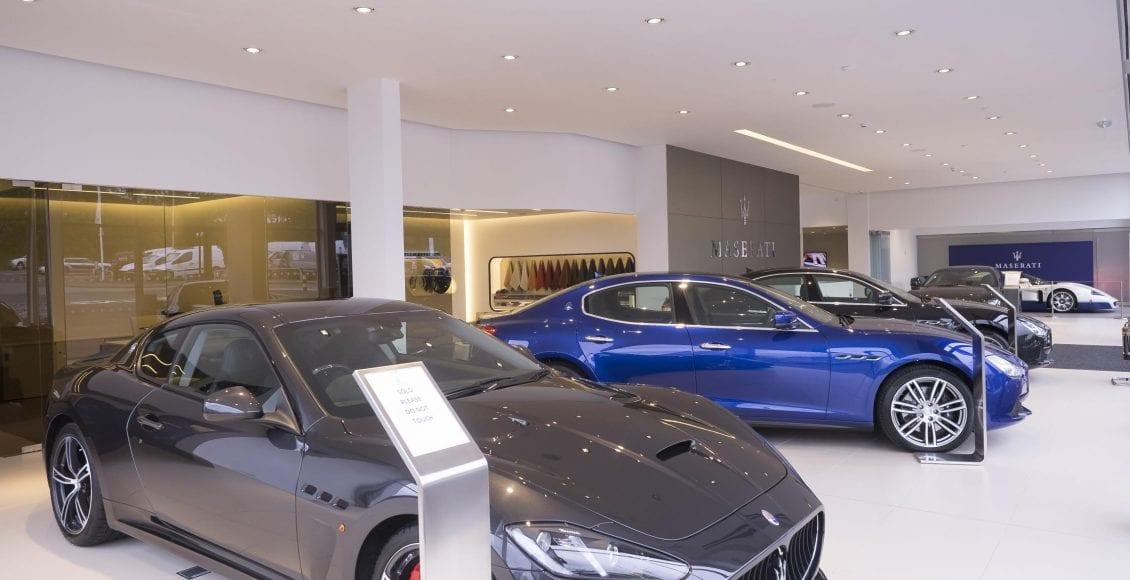 HR Maserati SHOWROOM